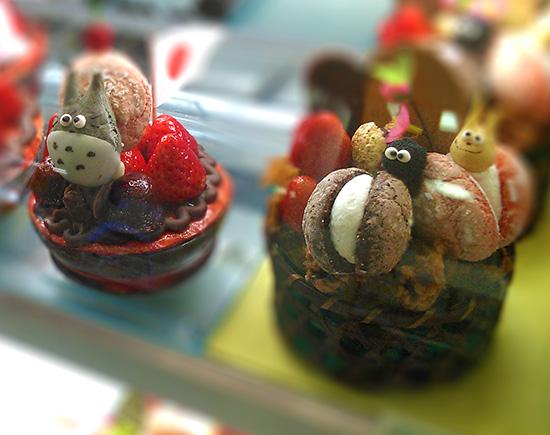 Cute Totoro cakes