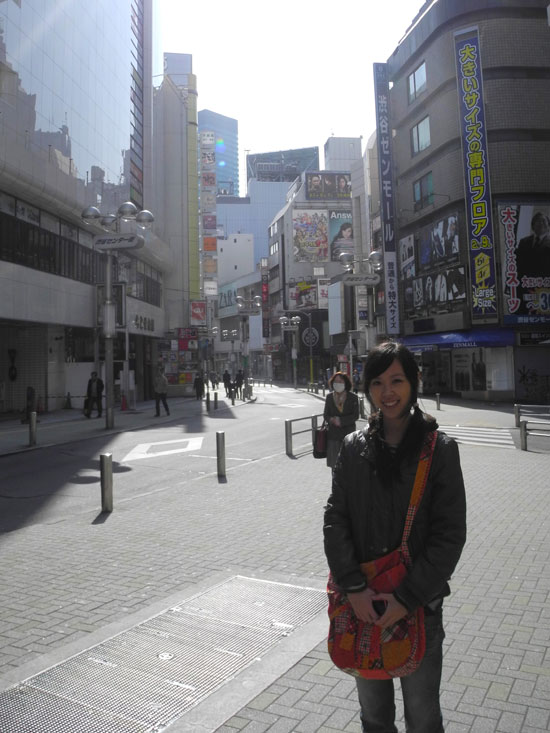 Shibuya morning