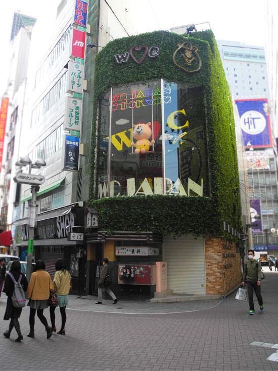 Interesting shop at Shibuya
