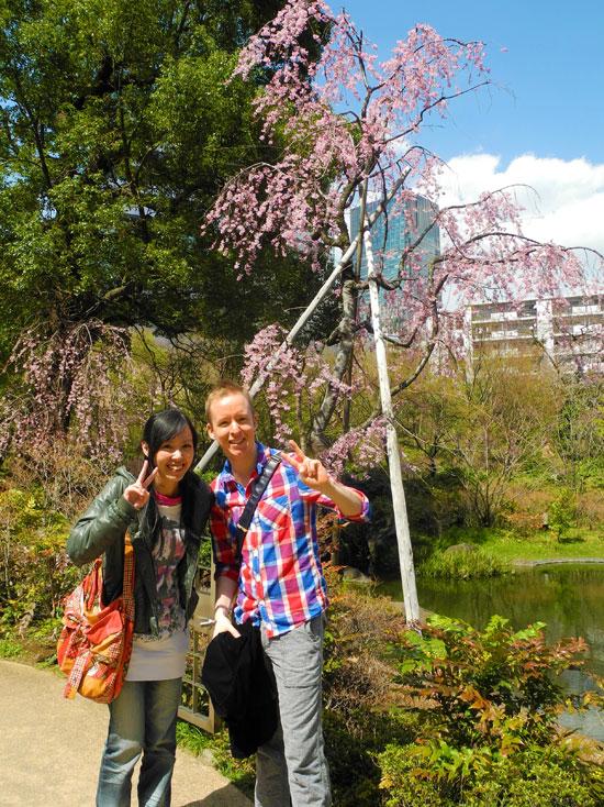 Roppongi Hills garden