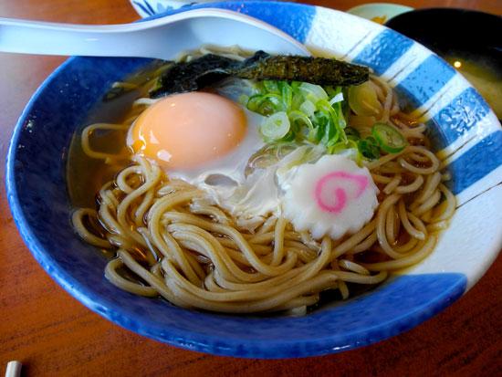 Lunch at Kawaguchiko