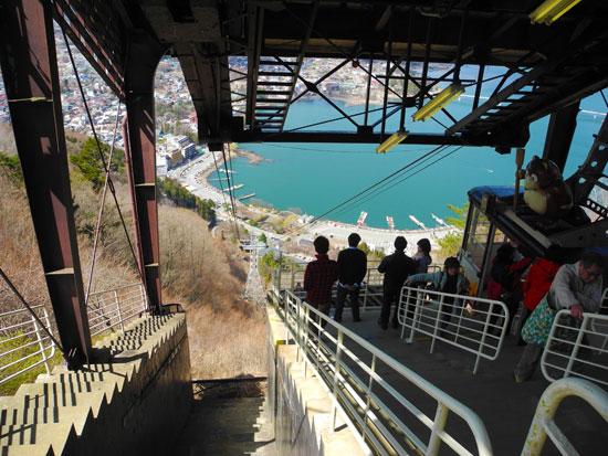 At the top of Mount Kachi Kachi Ropeway