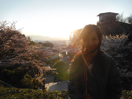 Nice Kyomizudera sunset shot