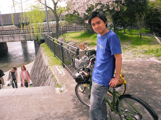Kyoto bike ride