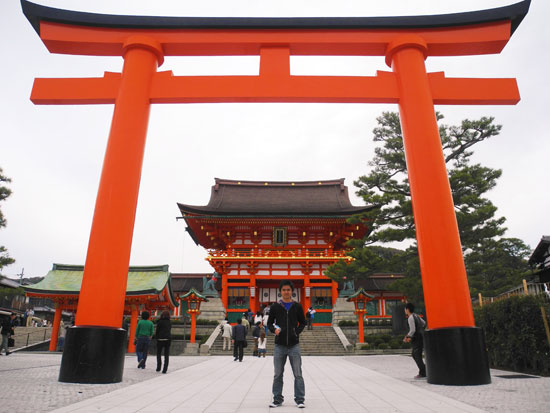 Fushimi Inari shine entrance