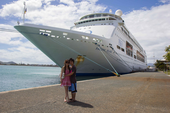Pacific Pearl at Noumea