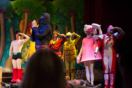 Another awesome performance from the Pacific Entertainers. Recognise any of these characters? =P