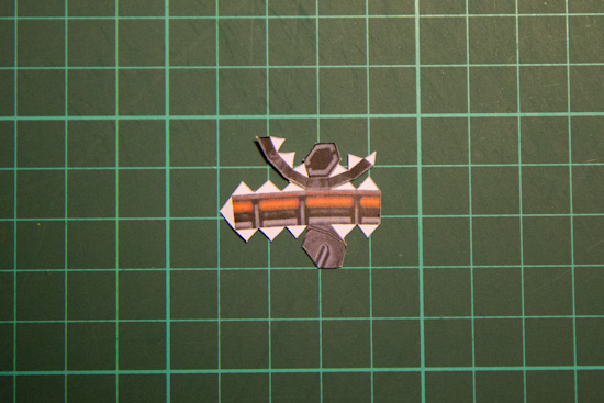 Battlecruiser papercraft-16