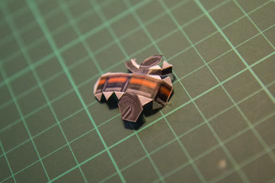 Battlecruiser papercraft-17